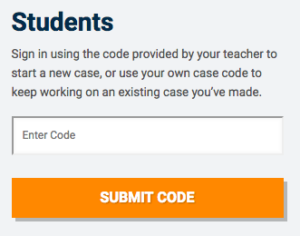 Students - Enter Code